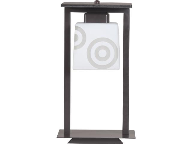 Lampa stołowa Cezar wenge 1xE27 10510 Sigma