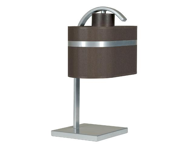 Lampa stołowa Largo wenge 1xE27 12209 Sigma