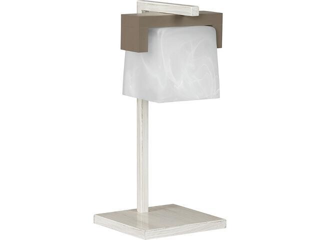 Lampa stołowa Fido beżowa 1xE27 12520 Sigma