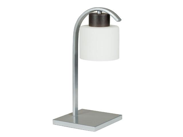 Lampa stołowa Nela wenge biała 1xE27 12919 Sigma
