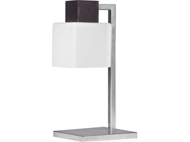 Lampa stołowa Oskar wenge 1xE27 13109 Sigma
