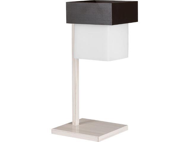 Lampa stołowa Lotos beżowa 1xE27 13420 Sigma