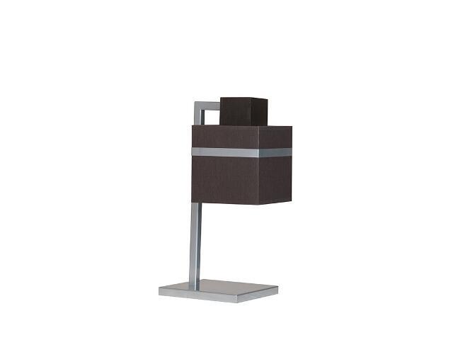 Lampa stołowa Rock wenge 1xE27 13718 Sigma