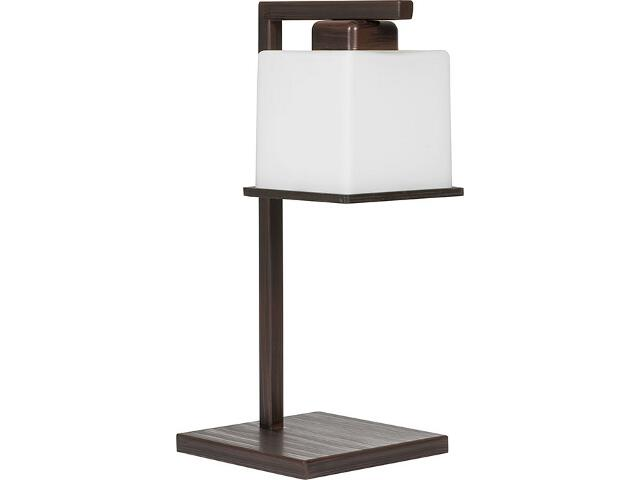 Lampa stołowa Kosta wenge 1xE27 14510 Sigma