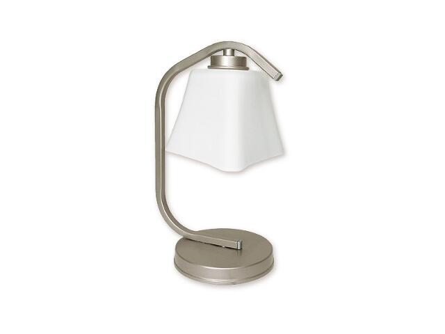 Lampa stołowa Magna 1-płomienna satyna O1248/L1 SAT Lemir