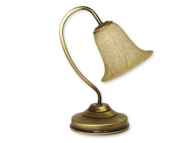 Lampa stołowa Mini 1-płomienna patyna 168/L1 Lemir