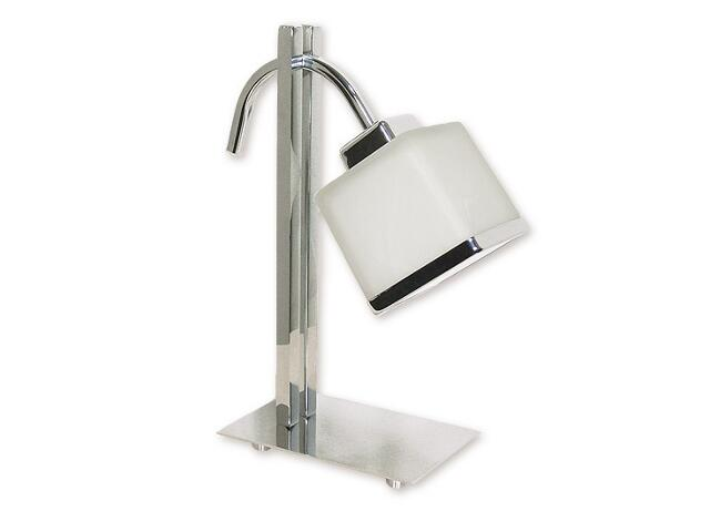 Lampa stołowa Duo 1-płomienna chrom O1428 CH Lemir
