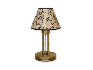 Lampa stołowa Miles 1-płomienna patyna O1388 PAT Lemir