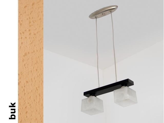 Lampa sufitowa ALHAMBRA CEB buk 1154CEB Cleoni