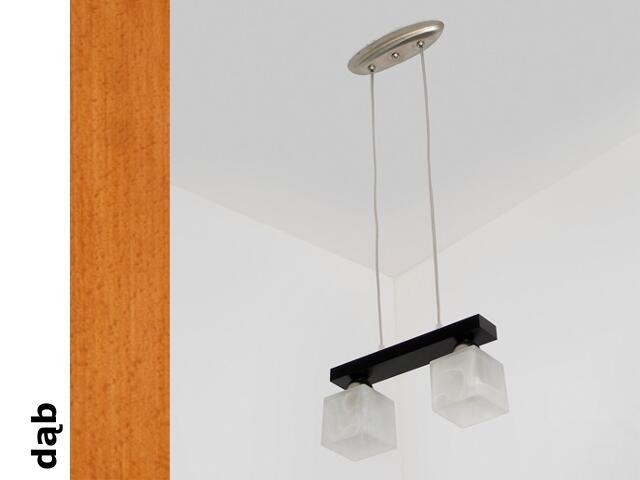 Lampa sufitowa ALHAMBRA CGD dąb 1154CGD Cleoni