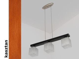 Lampa sufitowa ALHAMBRA DEK kasztan 1154DEK Cleoni