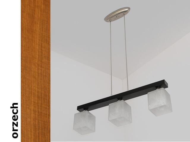 Lampa sufitowa ALHAMBRA DEO orzech 1154DEO Cleoni