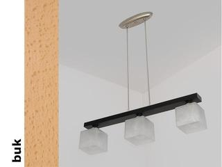 Lampa sufitowa ALHAMBRA DGB buk 1154DGB Cleoni