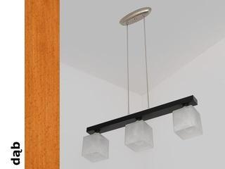 Lampa sufitowa ALHAMBRA DGD dąb 1154DGD Cleoni