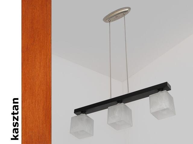 Lampa sufitowa ALHAMBRA DGK kasztan 1154DGK Cleoni