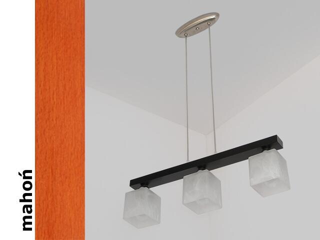 Lampa sufitowa ALHAMBRA DGMA mahoń 1154DGMA Cleoni