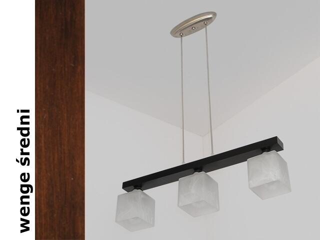 Lampa sufitowa ALHAMBRA DGVS wenge średnia 1154DGVS Cleoni