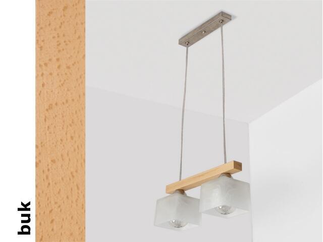 Lampa sufitowa ASTRA CEB buk 1155CEB Cleoni