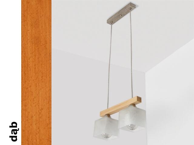Lampa sufitowa ASTRA CED dąb 1155CED Cleoni