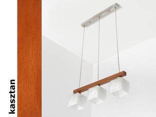 Lampa sufitowa ASTRA DEK kasztan 1155DEK Cleoni