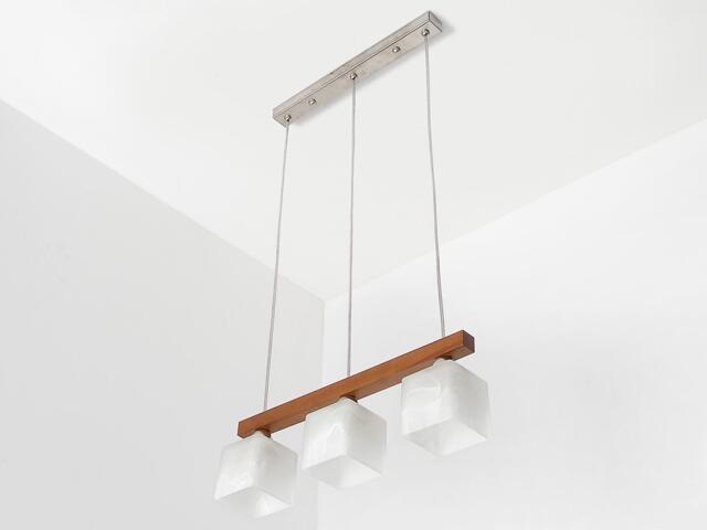 Lampa sufitowa ASTRA DEO orzech 1155DEO Cleoni