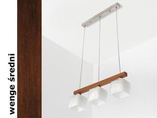 Lampa sufitowa ASTRA DEVS wenge średnia 1155DEVS Cleoni