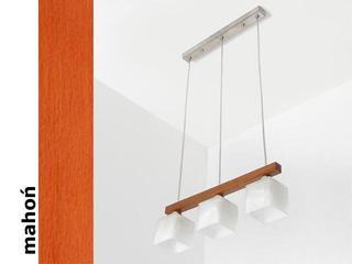 Lampa sufitowa ASTRA DGMA mahoń 1155DGMA Cleoni