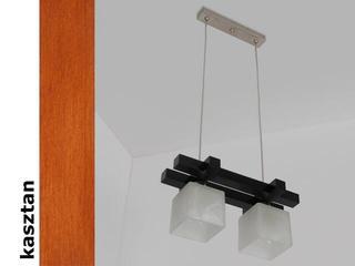 Lampa sufitowa AVEO CGK kasztan 1156CGK Cleoni