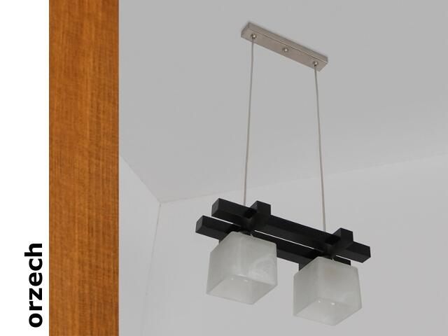 Lampa sufitowa AVEO CGO orzech 1156CGO Cleoni