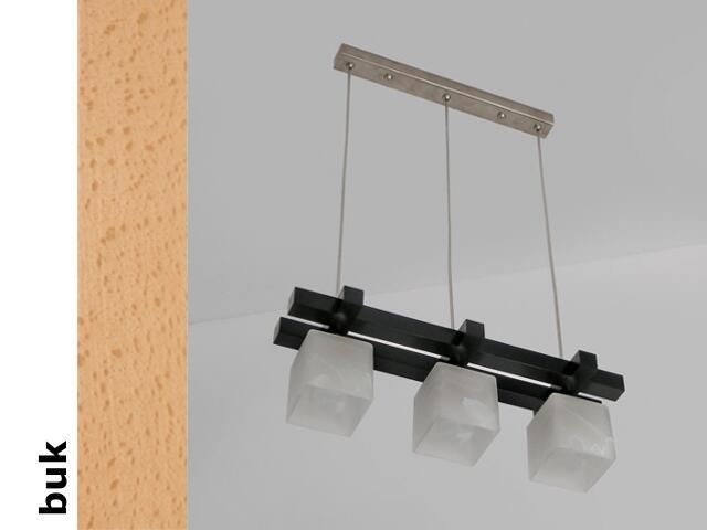 Lampa sufitowa AVEO DEB buk 1156DEB Cleoni
