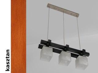 Lampa sufitowa AVEO DEK kasztan 1156DEK Cleoni