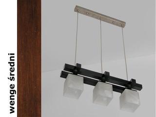 Lampa sufitowa AVEO DEVS wenge średnia 1156DEVS Cleoni