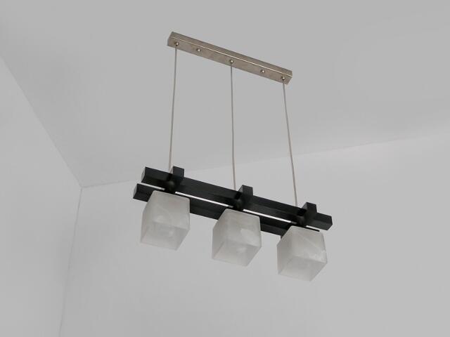 Lampa sufitowa AVEO DGVC wenge ciemna 1156DGVC Cleoni