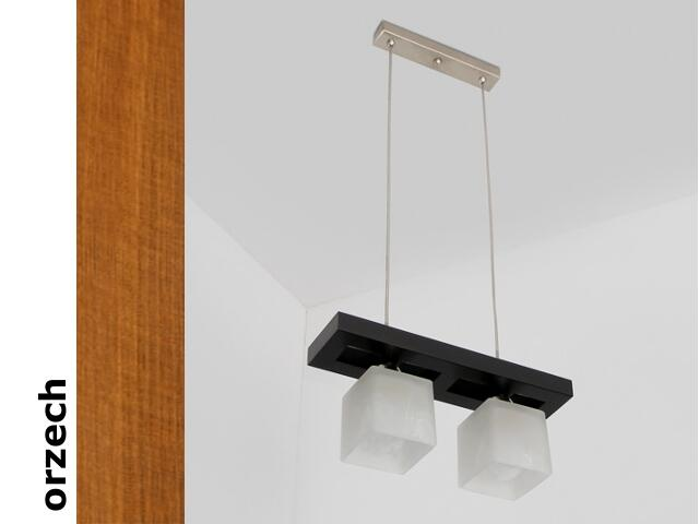 Lampa sufitowa AZUR CGO orzech 1157CGO Cleoni
