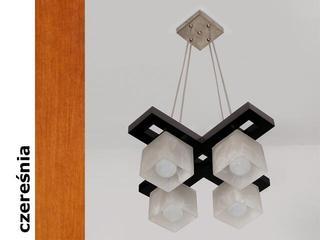 Lampa sufitowa AZUR KEC czereśnia 1157KEC Cleoni