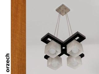 Lampa sufitowa AZUR KEO orzech 1157KEO Cleoni
