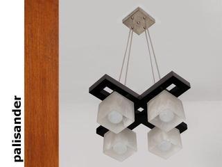 Lampa sufitowa AZUR KEP palisander 1157KEP Cleoni