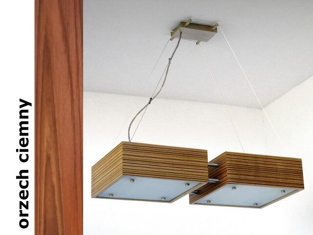 Lampa sufitowa CALYPSO DUE mała orzech ciemna 1206W2M209 Cleoni