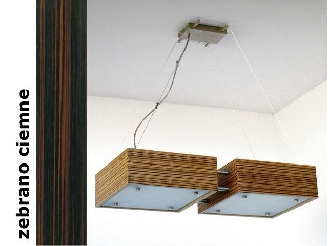 Lampa sufitowa CALYPSO DUE średnia zebrano ciemne 1206W2S206 Cleoni