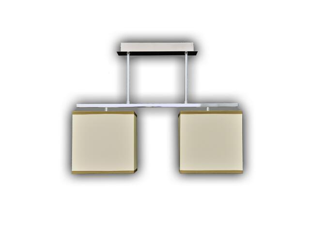 Lampa wisząca Adam 2-płomienna LPS001-16A/S Lumen Light