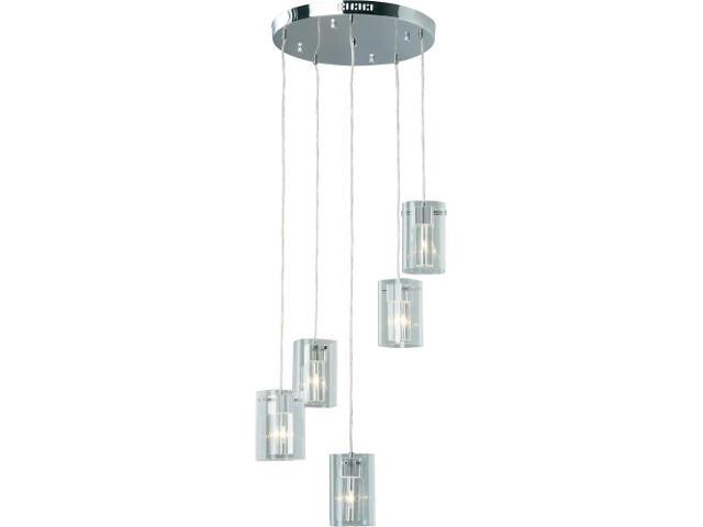 Lampa wisząca Lucida 5x20W G4 + LED G27873/15 Brilliant
