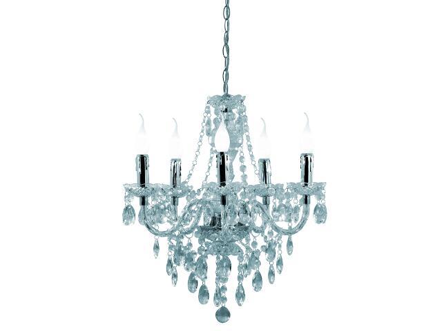 Lampa sufitowa Maria Teresa 5xE14 40W R1107-00 Reality