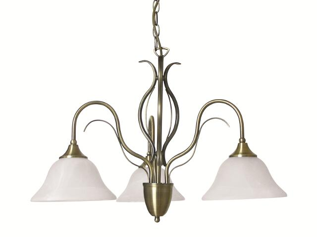 Lampa wisząca Valence 3xE14 40W R36953004 Reality