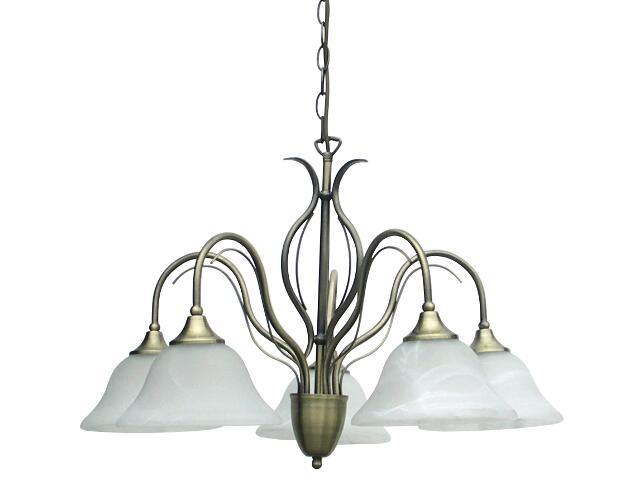 Lampa wisząca Valence 5xE14 40W R36955004 Reality