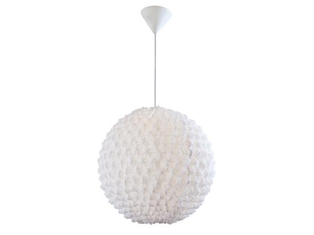 Lampa wisząca Snow Ball 1xE27 60W 31400107 Reality