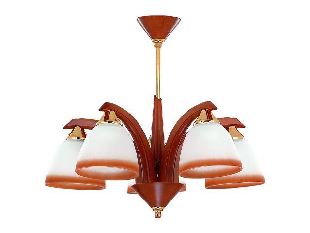 Lampa wisząca ŁOŚ 5xE27 60W 5366 Alfa