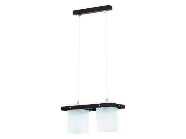 Lampa wisząca ECO VENGE 2xE27 60W 10662 Alfa