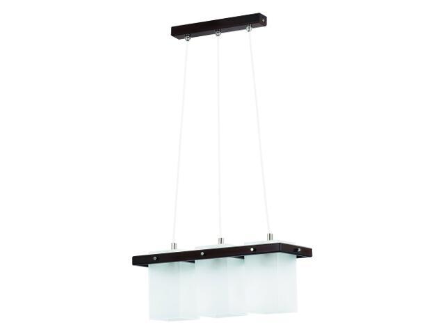 Lampa wisząca ECO VENGE 3xE27 60W 10663 Alfa