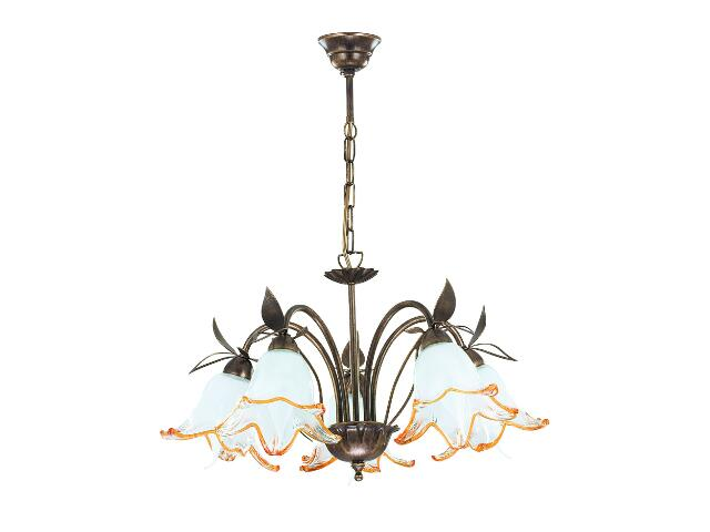 Lampa wisząca BRAGA 5xE14 40W 10755 Alfa