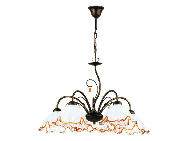 Lampa sufitowa CLAUDIA 5xE27 60W 12285 Alfa